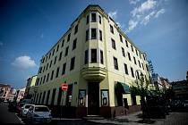 Hotel Brioni na Stodolní ulici, 2. května 2019 v Ostravě.