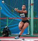 Zlatá tretra Ostrava 2018. Hammer throw, kladivo ženy, Gwen Berry