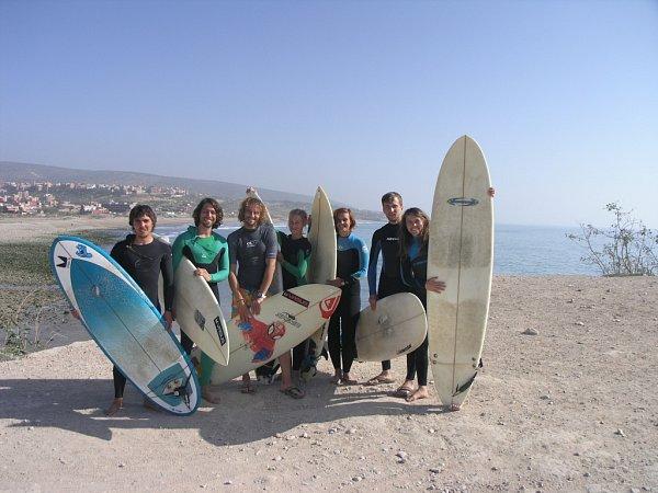 Vít Dubec a Tomáš Poláček zatím pořádají akce pro své kamarády a známé. Vbudoucnu by se rádi stali instruktory surfování.
