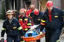 Ilustrační snímek z cvičení záchranářů v Ostravě