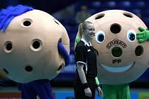 Mistrovství světa ve florbale žen v Ostravě.