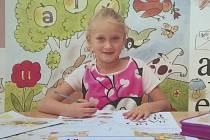 Karolínka Bíziková,6 let, Havířov-Šumbark , ZŠ Havířov-Šumbark