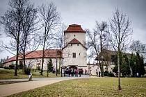 Slezskoostravský hrad, březen 2019. Ilustrační foto.