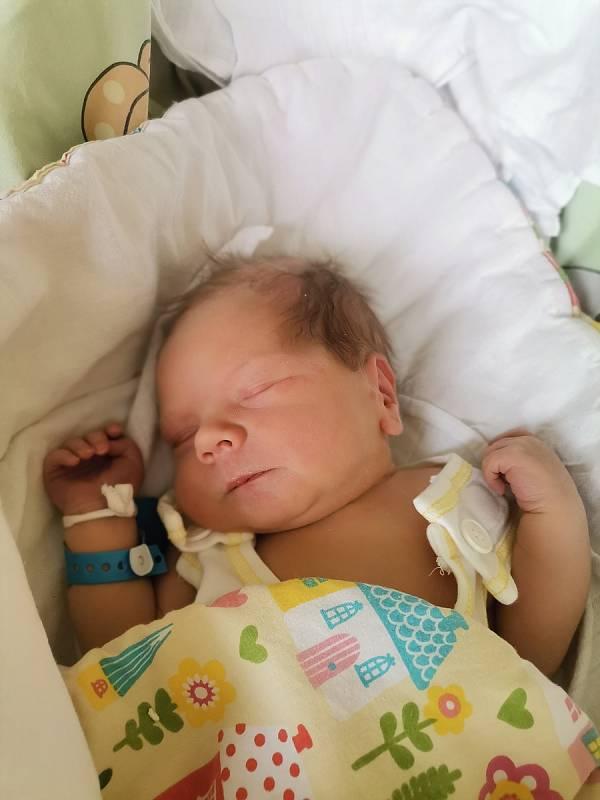 Andreas Niniczka, Havířov, narozen 21.9.2021, míra 49 cm, váha 3620 g. Foto: Michaela Blahová