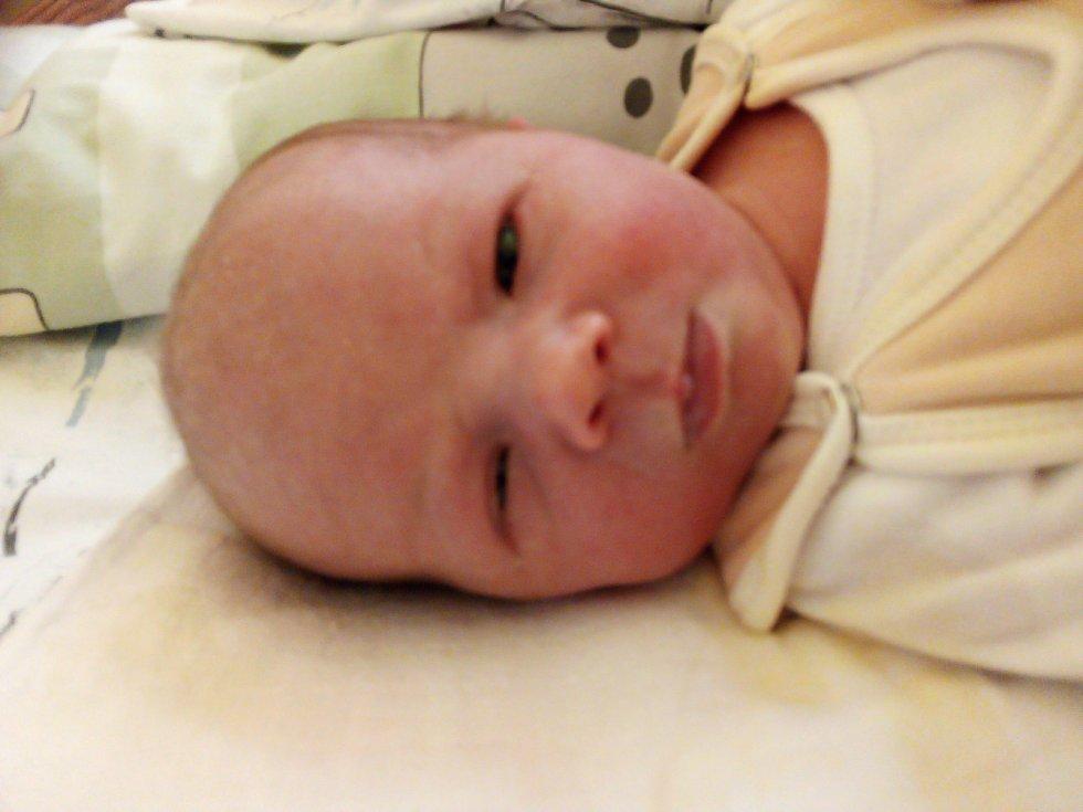Nela Chovančáková, Hlinka, narozena 22. února 2021, míra 52 cm, váha 3 640 g. Foto: Pavla Hrabovská