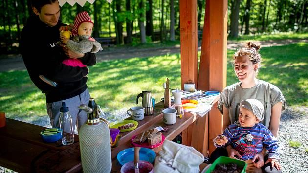 Férová snídaně v Bělském lese, 11. května 2019 v Ostravě.