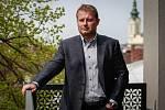 Rozhovor s vlastníkem hokejových Vítkovic Alešem Pavlíkem. Na fotografii Aleš Pavlík