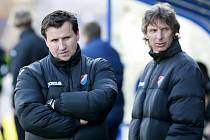 Noví trenéři Baníku Petr Frňka a Petr Samec nejsou zatím ze zablokovaných přestupů nervózní.