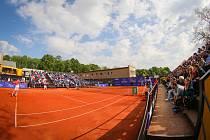 Prosperita Open 2019, 1. května 2019 v Ostravě. Zápas Jelle Sels (NED) - Jiří Veselý (CZE).