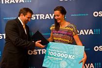 Denisa Rosolová, atletka a vítězka ankety Sportovec města Ostravy 2011