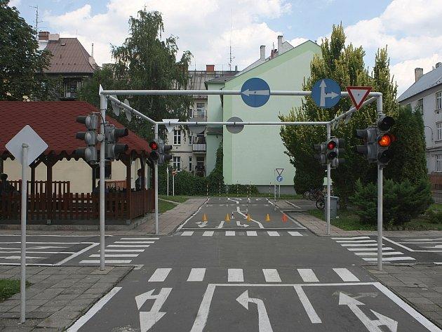 Dopravní hřiště v Ostravě-Přívoze