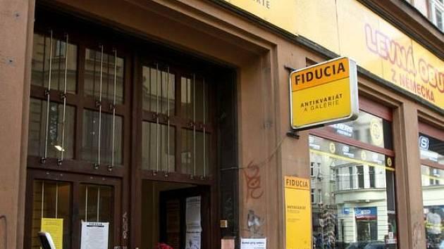 Antikvariát Fiducia v Ostravě