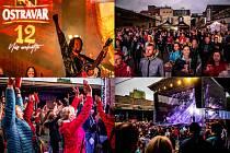 Živý koncert kapely Kryštof z nádvoří pivovaru Ostravar, 21. června 2020 v Ostravě.