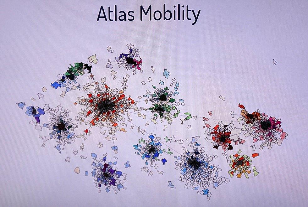 ATLAS Mobility zpracovává provozní data mobilních sítí, což pomáhá i v nouzovém stavu.