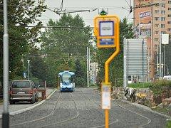 15. Linka s tímto číslem jezdí od neděle mezi zastávkami Dubina Interspar a Výškovice.