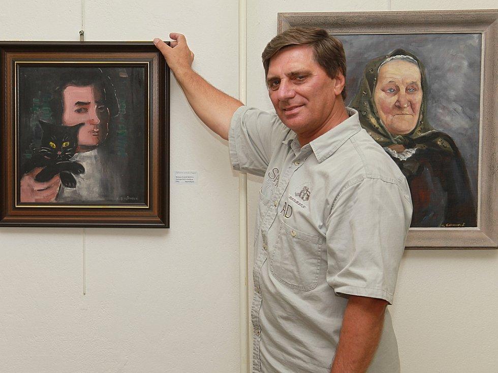 Petr Pavliňák, ředitel Výtvarného centra Chagall, galerista, výtvarník.
