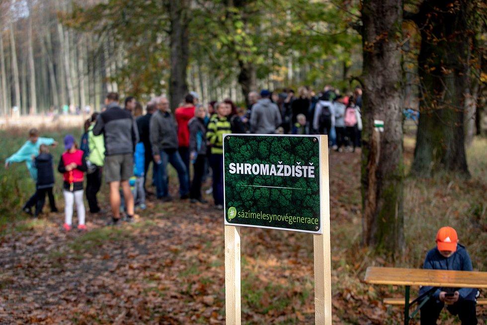 Sázíme lesy nové generace, 19. řina 2019 v Šilheřovicích.