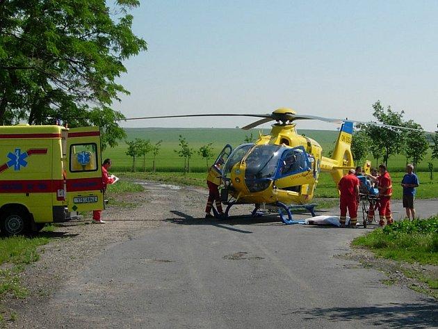 Posádky záchranné služby. Ilustrační foto