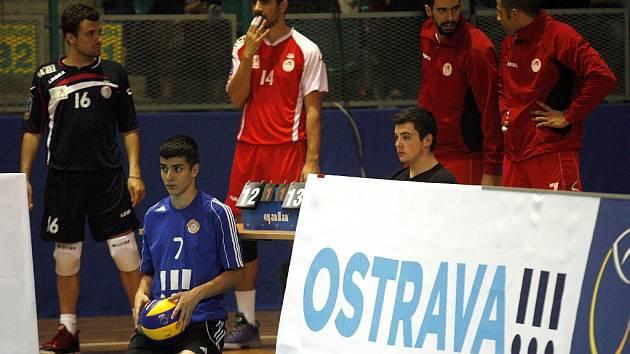 VK Ostrava – Olympiakos Pireus 1:3