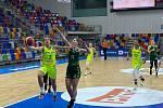 USK Praha - SBŠ Ostrava, předehrávka 7. kola ligy žen, 24. listopadu 2020. Foto: USK Praha