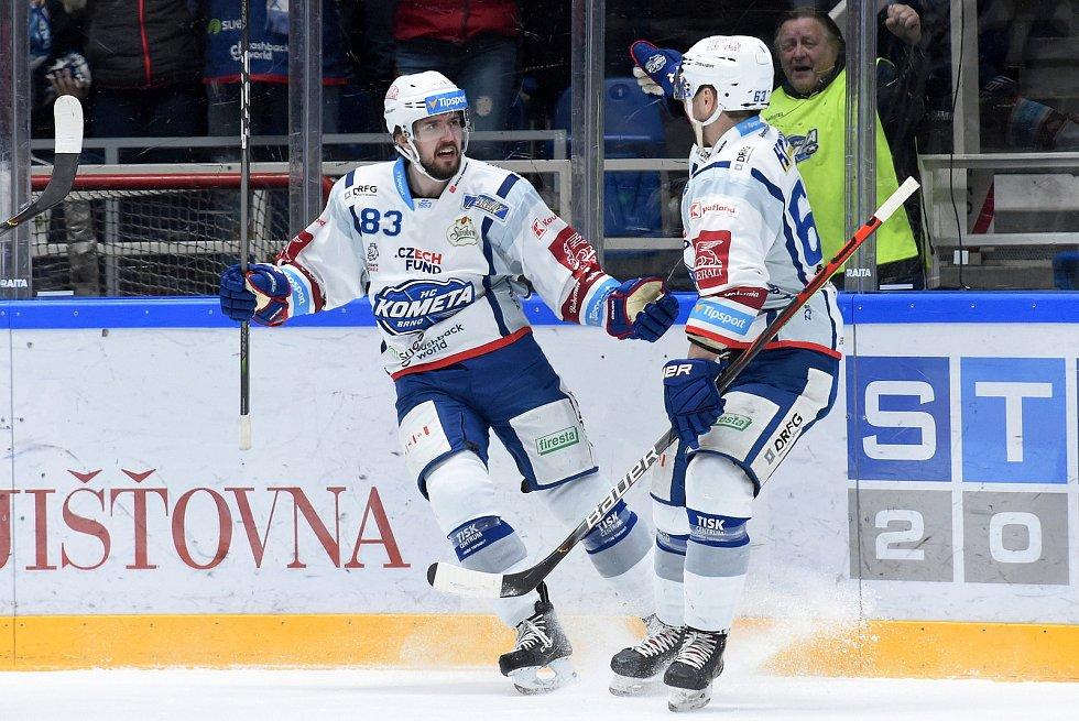 Brno 28.2.2020 - HC Kometa Brno (Šimon Stránský) - Bílí Tygři Liberec