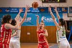 Utkání 18. kola Ženské basketbalové ligy: SBŠ Ostrava - BLK Slavia Praha, 22. února 2020 v Ostravě.