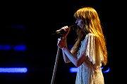 Hudební festival Colours of Ostrava 2019 v Dolní oblasti Vítkovice, 17. července 2019 v Ostravě. Na snímku kapela Florence and the Machine.