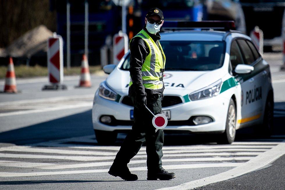 Kontrola na hranicích se Slovenskem