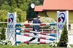 Jezdectví - Velká cena Ostravy (český skokový pohár) ve Staré Bělé.