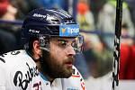 Utkání 34. kola hokejové extraligy: HC Vítkovice Ridera - HC Oceláři Třinec, 12. ledna 2019 v Ostravě. Na snímku Michal Poletín.