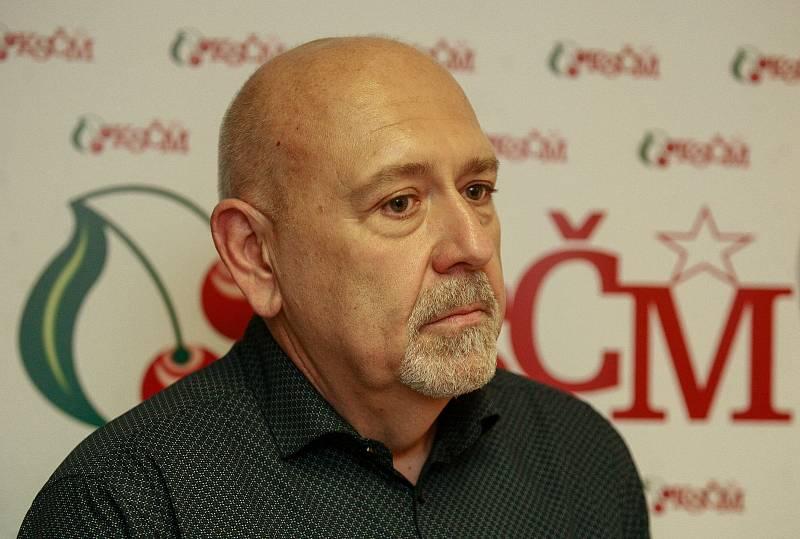 Volby 2017.Štáb KSČM, Leo Luzar.