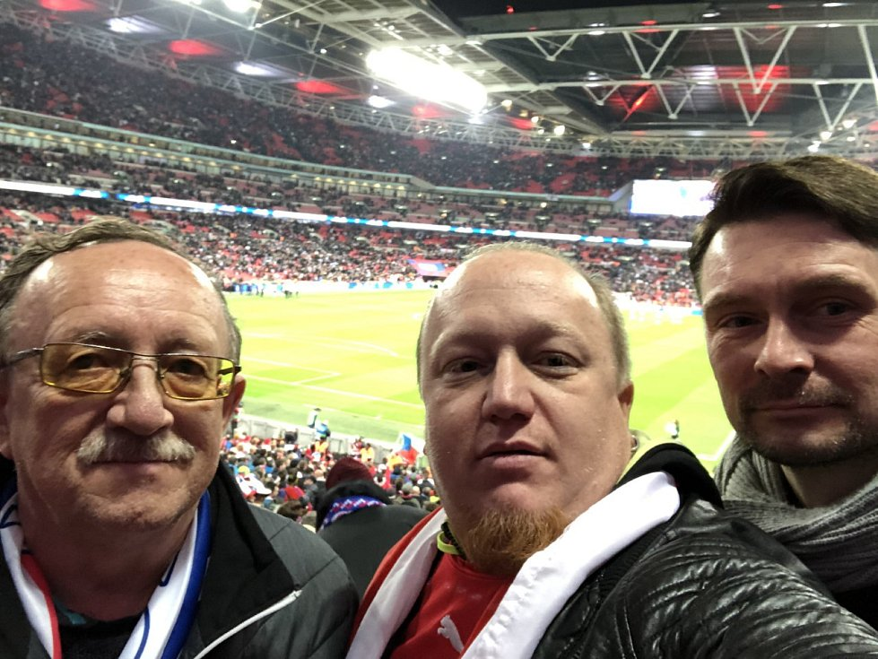 Wembley, 22. března 2019.