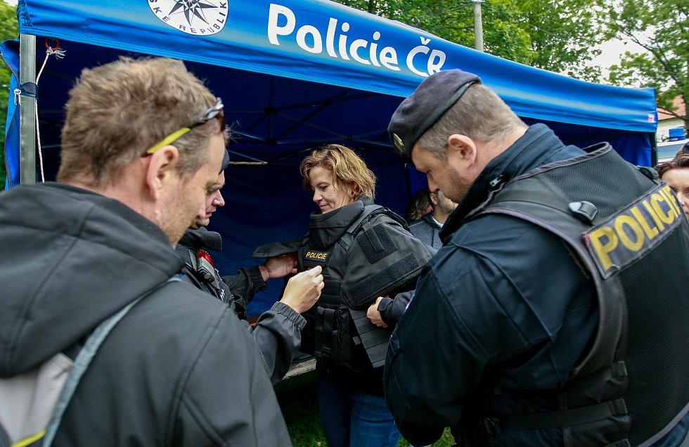 Den policie 2017 na Slezskoostravském hradě.