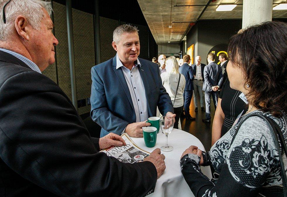 Setkání s hejtmanem Ivo Vondrákem v Ostravě, v multifunkční hale Gong.