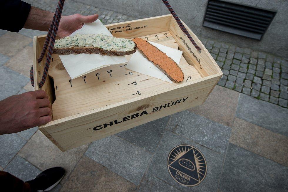 Chleba SHŮRY v Ostravě.
