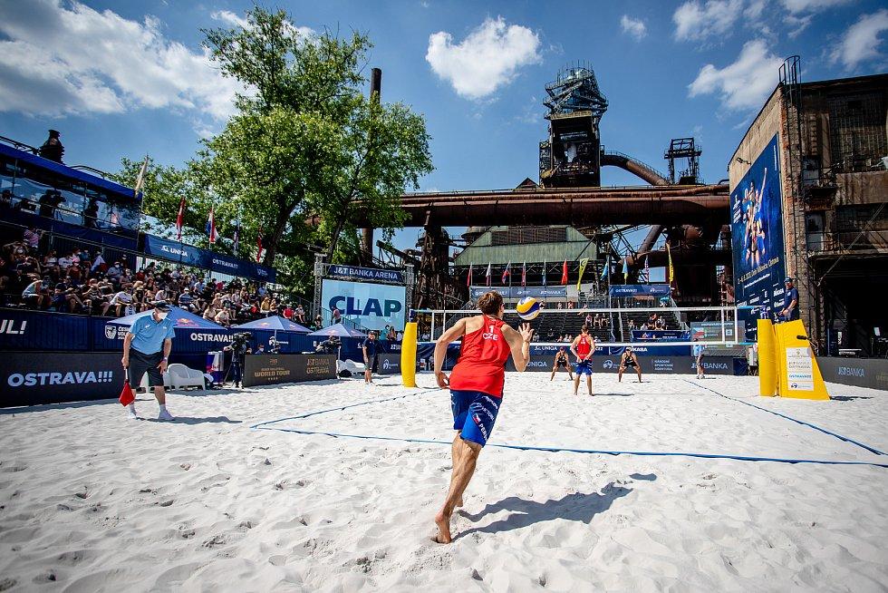 J&T Banka Ostrava Beach Open, 3. června 2021 v Ostravě.
