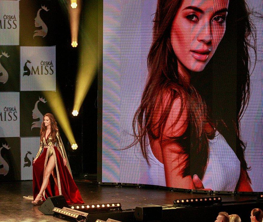 Vyhlášení české Miss 2018 v Gongu.Nikola Bechyňová