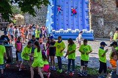 Hledej pramen vody 2018 na Slezkoostravském hradě, 1. června 2018 v Ostravě.