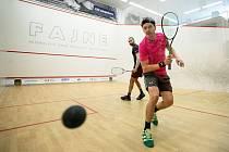 28. Mistrovství ČR ve squashi, finále muži: Daniel Mekbib - Jan Koukal, 8. března 2020 v Ostravě.