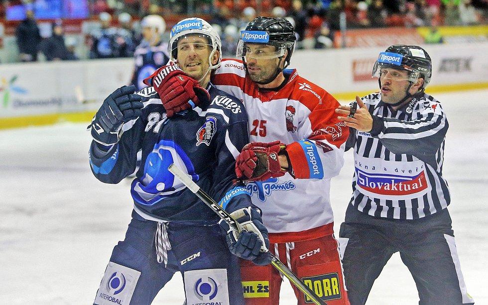 Jaroslav Kracík, Zbyněk Irgl (vpravo)