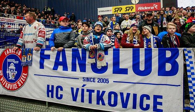 Fanoušci Vítkovic. Ilustrační foto.