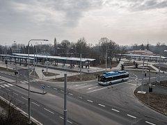 Přestupní terminál Hranečník.