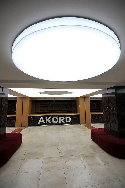 Nejen nová fasáda byla součástí rozsáhlé rekonstrukce nejstaršího ostravského kulturního domu Akord.
