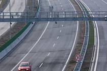 Dálnice D 47 si zatím na dopravní přetížení stěžovat nemůže.
