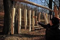 Listopad 2015. Hukvaldská obora láká k návštěvě v každém ročním období.