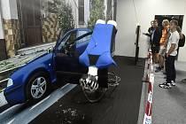 V ostravském Velkém světě techniky v Dolní oblasti Vítkovice byla 13. září 2019 zahájena interaktivní výstava Crash
