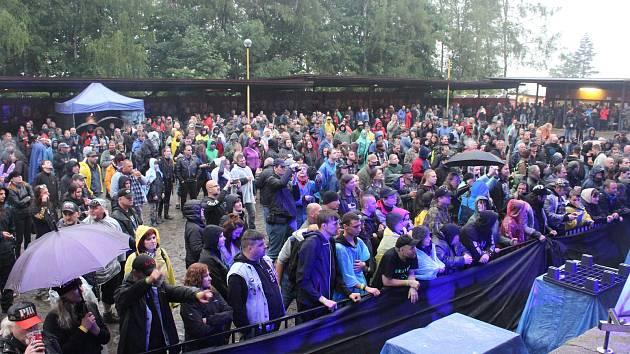 Hudební festival Kamenité Open 2017 ve Vyšních Lhotách.