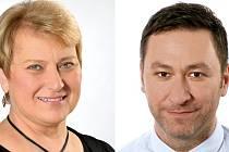 Liana  Janáčková a Patrik Hujdus