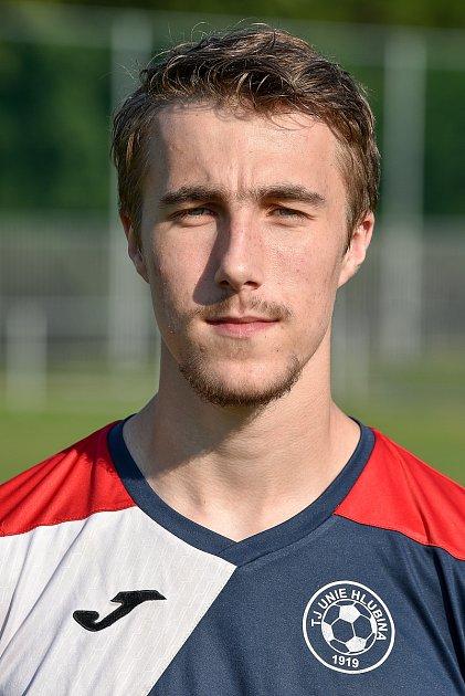 Fotbalový klub TJ Unie Hlubina, 7.srpna 2020vOstravě. Jiří Hommes, záložník