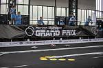 Finále soutěže Horizon Hydrogen Grand Prix  závod s RC modely autíček poháněnými vodíkem v Trojhalí, 23. září 2020 v Ostravě.